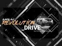 HR-V Revolution Drive - Key Visual