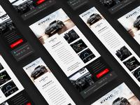 Honda Civic G10 - Responsive Newsletter
