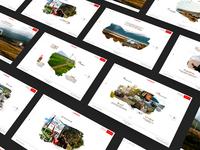 Campanha Viagem Pra Lá Do Fim do Mundo Honda - Landing Pages
