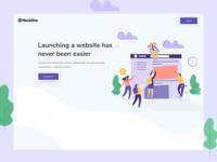 Mock1 Landing Page