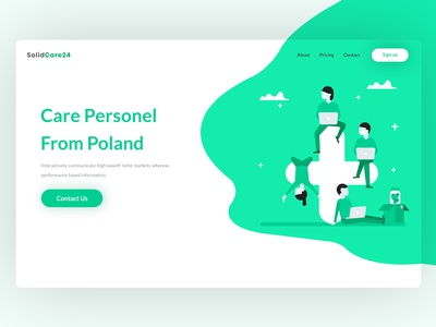 Personal Care Website Header