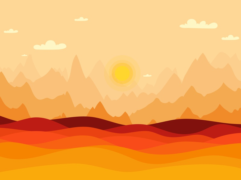 Autumn fall landscape background, sunset background flat design illustration tree fall vector season autumn nature countryside farm farmland traditional outdoor scene golden hillside september explore trees