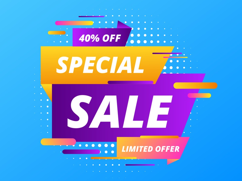 Sale banner template design, Big sale special offer. special season clearance sale background big sale banner coupon template background buy paper advertising design mega banners stickers big sale store percent price tag huge sale