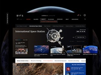 NASA website redesign.