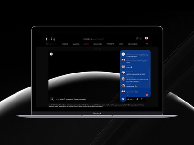 NASA website redesign.