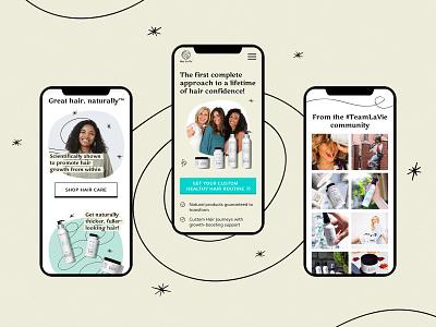 Home page. Mobile design smart home product illustration style vector vitamins art direction design website ui