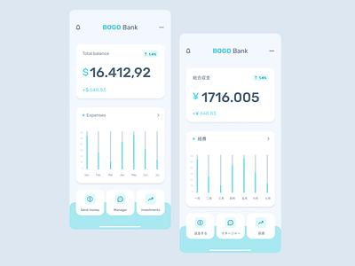 Bogo Bank Concept: Localizing the User Experience @uiux design @localizing @uidesign @productdesign @concept designofexperimentation @design