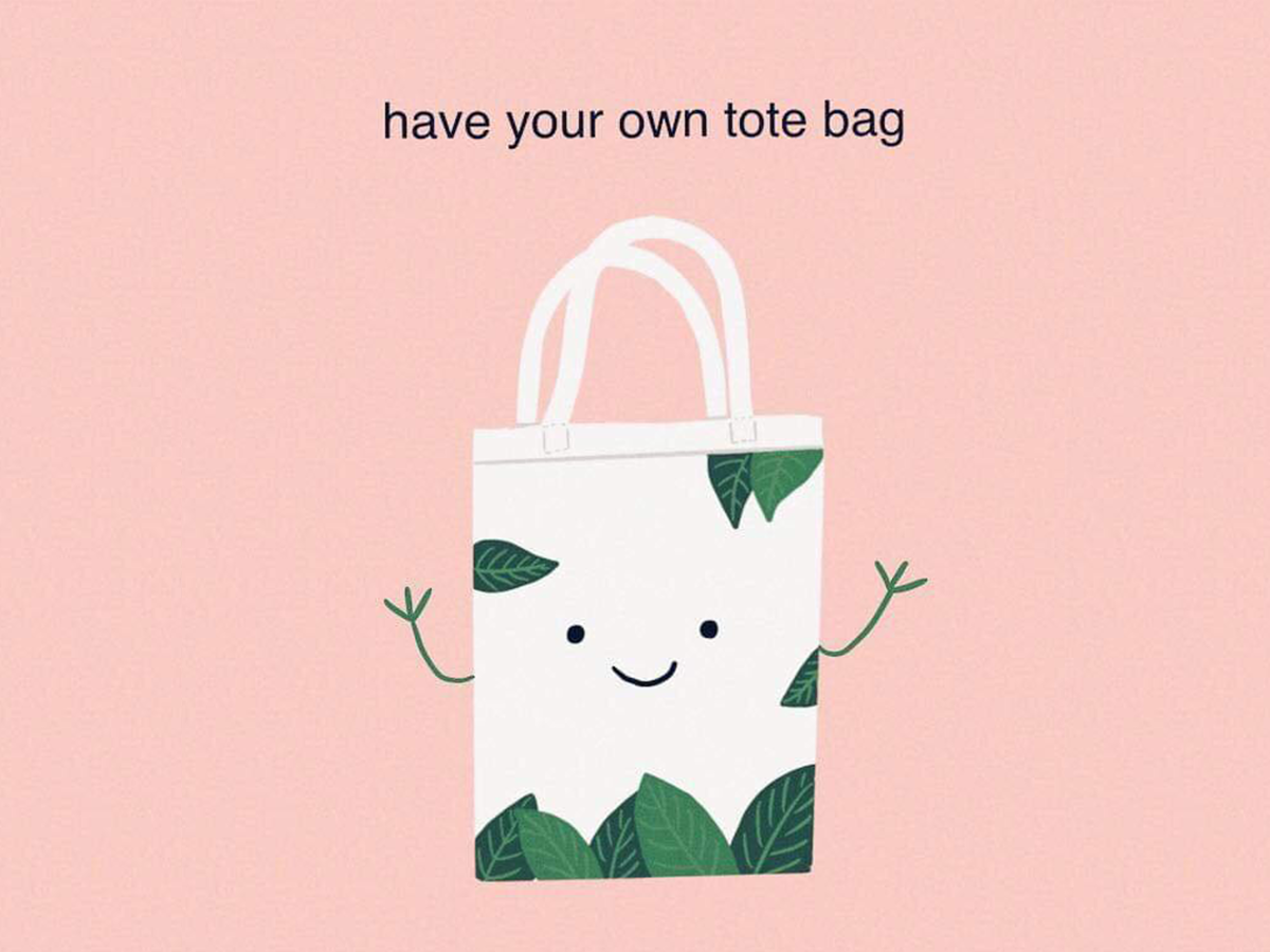 Have your own tote bag totebag 2d 2d art zerowaste sustainable procreate ipadpro flatdesign illustrator design digital art draw drawing illustration
