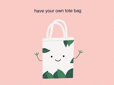 Have your own tote bag