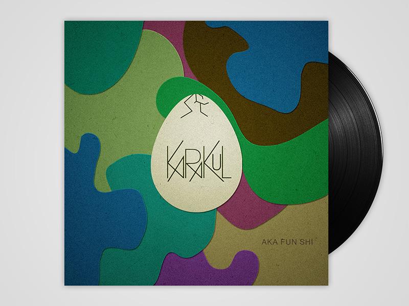 indietronic music band indietronic karakul album music visualart modern generative contemporary abstract artwork cover
