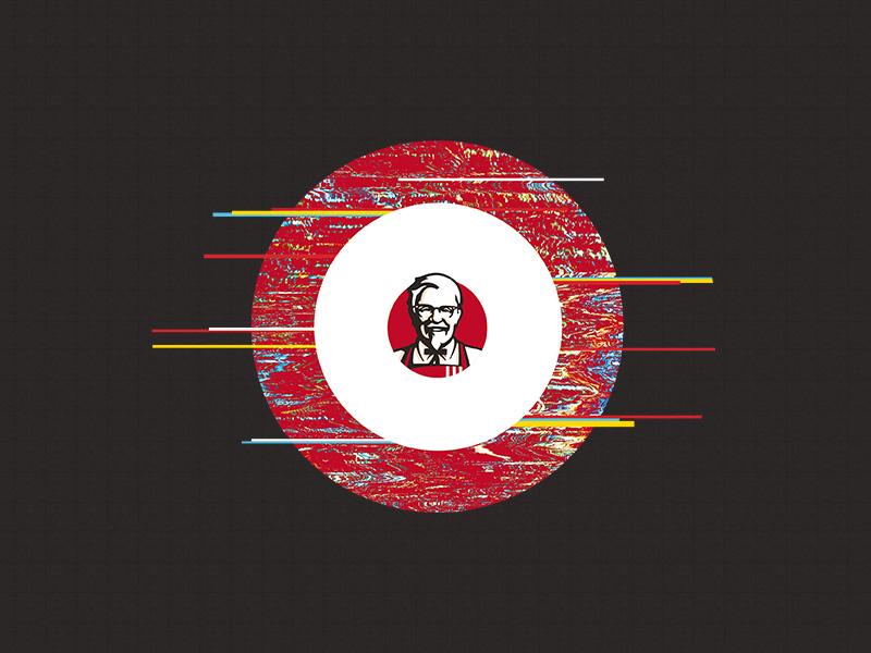 Drunk KFC package identity glitch kfc