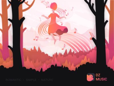Illustration for DZ Music