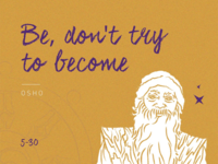 Osho - 30 Days / 30 Spiritual Teachers 🔮✨
