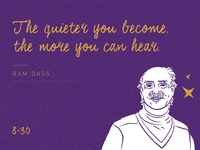 Ram Dass - 30 Days / 30 Spiritual Teachers 🔮✨