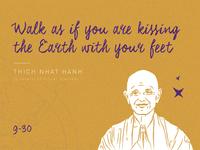 Thich Nhat Hanh - 30 Days / 30 Spiritual Teachers 🔮✨