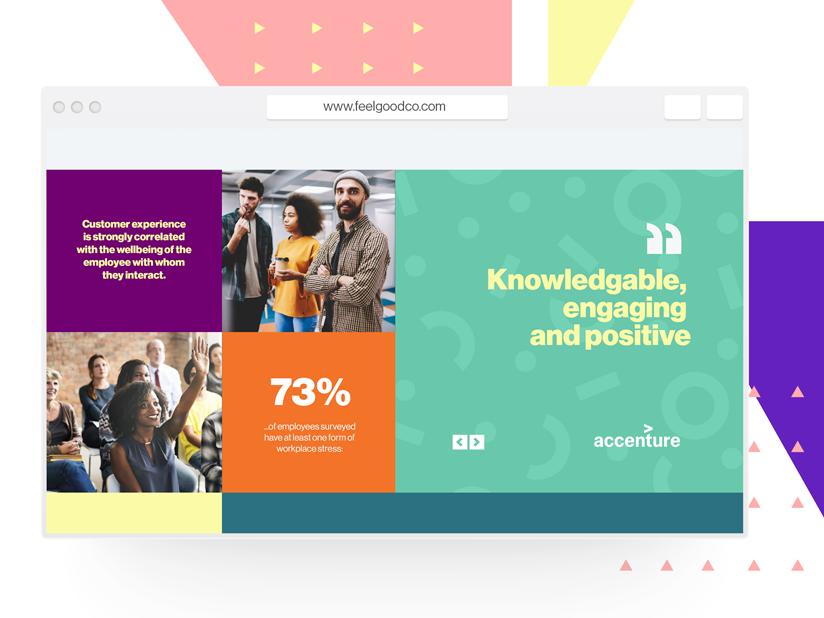 Feelgood Homepage Design webdesign