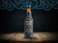 Connemara King - Pale Ale - Bottle Design Mockup