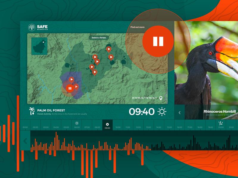 SAFE Acoustics UI ux app design ui