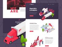 FleetOps Website Design