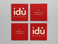 Business card - idù Bijoux