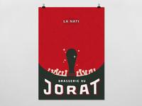 """Poster """"La Nati"""" - Brasserie du Jorat"""