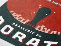 """Label """"La Nati"""" - Brasserie du Jorat"""