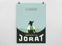 "Poster ""La Vaudoise"" - Brasserie du Jorat"