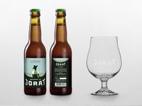 "Label ""La Vaudoise"" - Brasserie du Jorat"