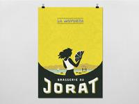 """Poster """"La Motueka"""" - Brasserie du Jorat"""