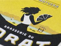 """Label """"La Motueka"""" - Brasserie du Jorat"""
