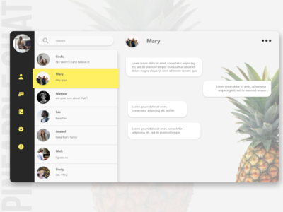 Daily UI : #013 Direct Messaging