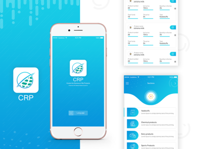 App crp - for owners of factories and companies