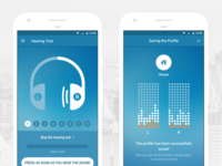 Dectone App UI (Android)