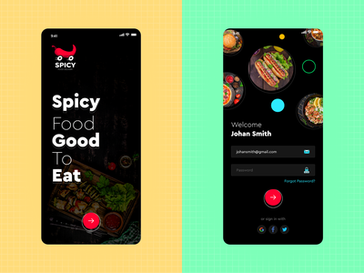 Spicy App home delivery food app food spicy app spicy online food delivery online delivery restaurant app restaurant