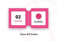 02 Dribbble Invitation
