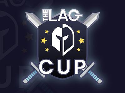 The LAG CUP Logo digital identity design esport logo