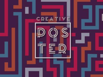 Creatrive Poster