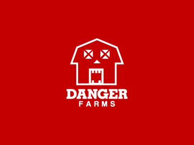 Danger Farms Logo Design