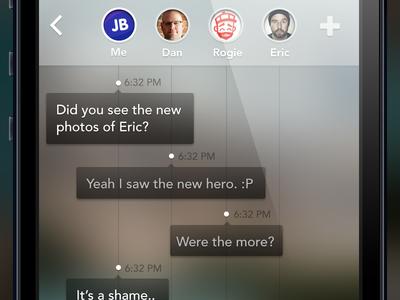 Groupchat UI Experiment 2