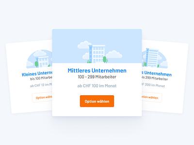 Pricing Illustrations design corporate size pricing website vector ui app web flat minimal illustration