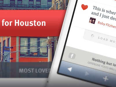 HHH mobile app responsive minimal houston