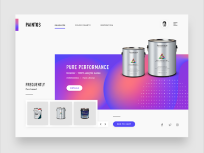 Landing Page - Paintos