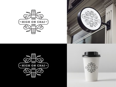 logo design - Tea cafe