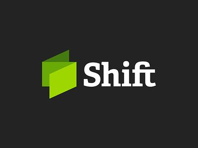 Final Shift Logo identity mark brand logo adelle ligature shiftcph adelle bold
