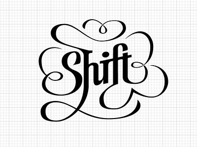Shift Hipster Logo logo hipster lettering ligature