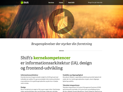 shiftcph.dk webpage webpage shiftcph adelle typography design adelle bold