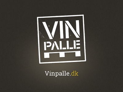 Vinpalle Logo logo branding identity roboto slab