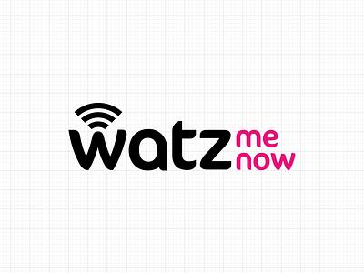 Watz Logo Positive identity branding logo
