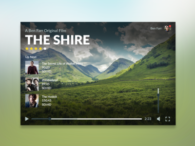 Video Player Concept