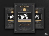 Free Retirement Invitation Flyer Template